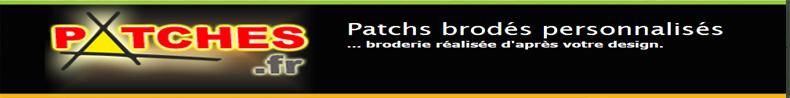 Patch Brodé Personnalisé